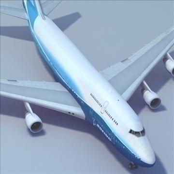 b747 boeing livery 3d model 3ds max x lwo ma mb hrc xsi texture obj 107791
