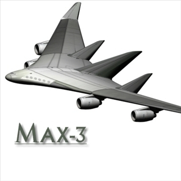 max model wingbody 3d 96062