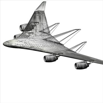 blended wingbody 3d model max 96064