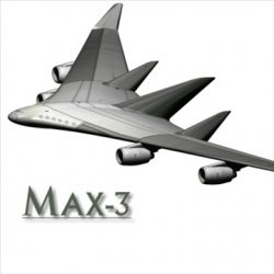 Blended WingBody ( 39.7KB jpg by prolithic )