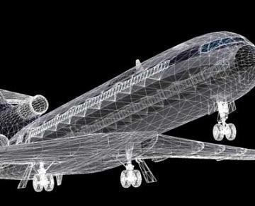 Boeing 727 3d líkan 3ds lwo 78970