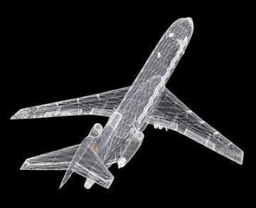 Boeing 727 3d líkan 3ds lwo 78972