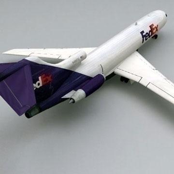 boeing 727 - kravas 3d modelis 3ds lwo 78977