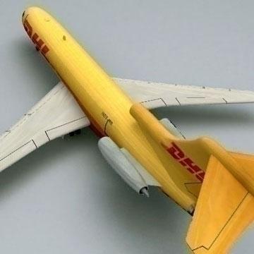 boeing 727 - kravas 3d modelis 3ds lwo 78979