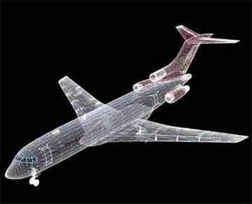 boeing 727 – cargo 3d model 3ds lwo 78982