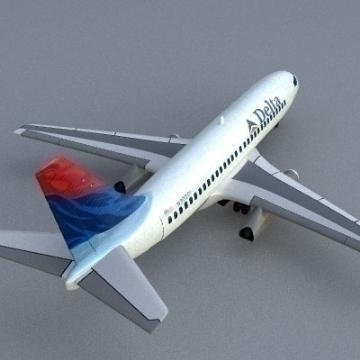 boeing 737-200 3d model 3ds lwo 78958