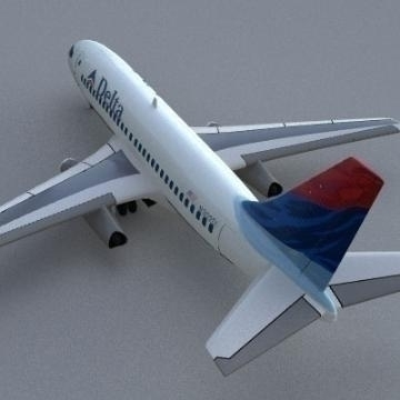 boeing 737-200 3d model 3ds lwo 78961