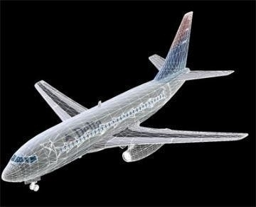 boeing 737-200 3d model 3ds lwo 78963