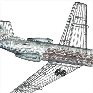 sud aviation caravelle 3d model max 96131
