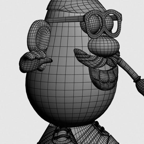mister potato head toy 3d model 3ds max fbx obj 129508