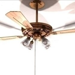 Ceiling Fan 3D Model ( 40.4KB jpg by matttrout )