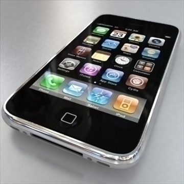 apple iphone 1st gen 3d model 3ds max fbx c4d ma mb obj 104591