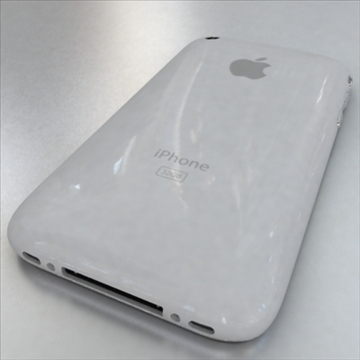 apple iphone 1st gen 3d model 3ds max fbx c4d ma mb obj 104592