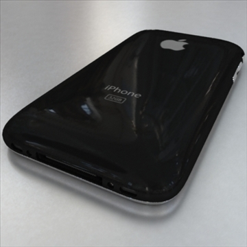 apple iphone 1st gen 3d model 3ds max fbx c4d ma mb obj 104594