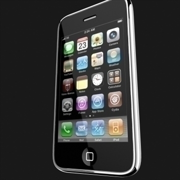 apple iphone 1st gen 3d model 3ds max fbx c4d ma mb obj 104597