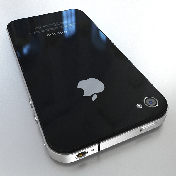 apple iphone 4g 3d model 3ds max fbx c4d ma mb obj 112488