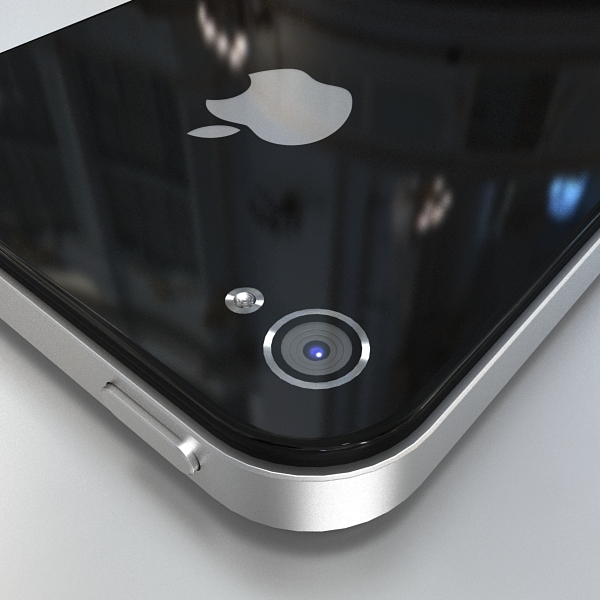 apple iphone 4g 3d model 3ds max fbx c4d ma mb obj 112490