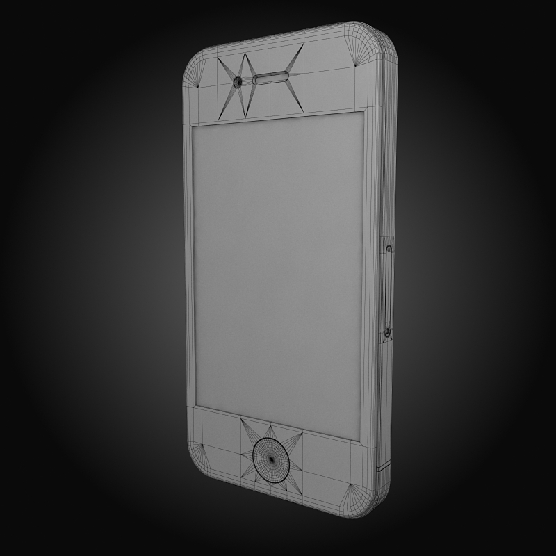 apple iphone 4g 3d model 3ds max fbx c4d ma mb obj 112505