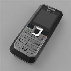 cell phone ( 49.83KB jpg by 3DGL )