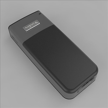 cell phone 3d model 3ds 3dm  obj 105463