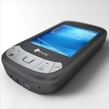 htc p4350 herald communicator 3d model 3ds max fbx obj 108849