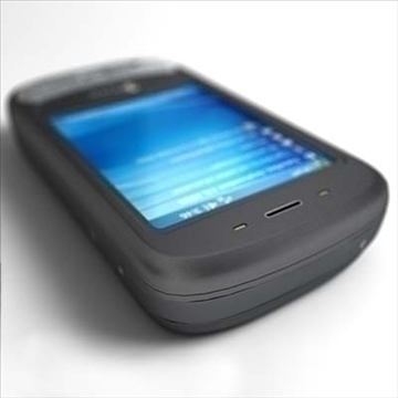 htc p4350 herald communicator 3d model 3ds max fbx obj 108851
