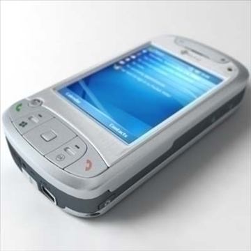 htc tytn communicator (hermes) 3d model 3ds max fbx obj 80783