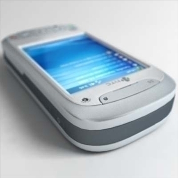 htc tytn communicator (hermes) 3d model 3ds max fbx obj 80785