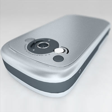 htc tytn communicator (hermes) 3d model 3ds max fbx obj 80787