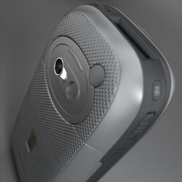 htc wizard communicator (smartphone) 3d model 3ds max fbx obj 108842