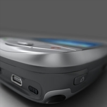 htc wizard communicator (smartphone) 3d model 3ds max fbx obj 108843