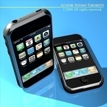 IPHONE 3d modelis 3ds dxf c4d obj 88974