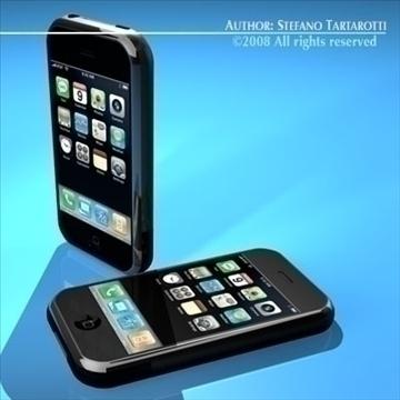 iphone 3d model 3ds dxf c4d obj 88975