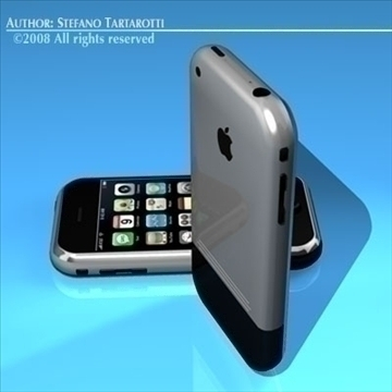 iphone 3d model 3ds dxf c4d obj 88976