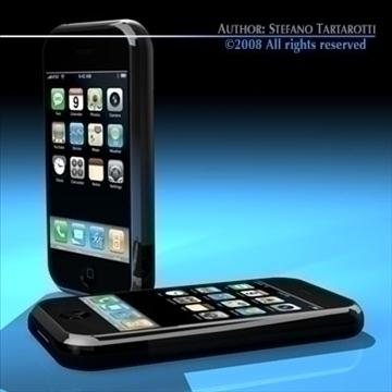iphone 3d model 3ds dxf c4d obj 88977
