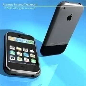 iphone 3d model 3ds dxf c4d obj 88978