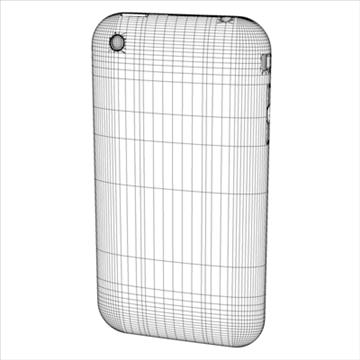 iphone3g 3d model 3ds dxf fbx c4d x obj 96528