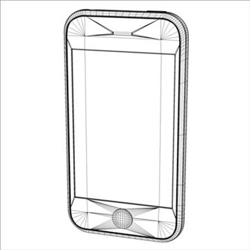 iphone3g 3d model 3ds dxf fbx c4d x obj 96533