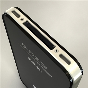 iphone4 3d model 3ds dxf fbx c4d x  obj 106526