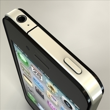 iphone4 3d model 3ds dxf fbx c4d x  obj 106527