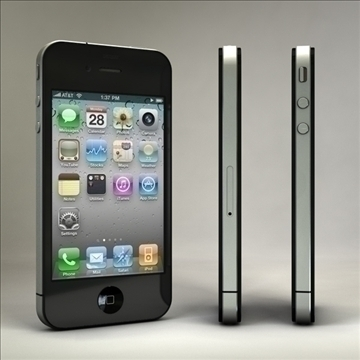 iphone4 3d model 3ds dxf fbx c4d x  obj 106528
