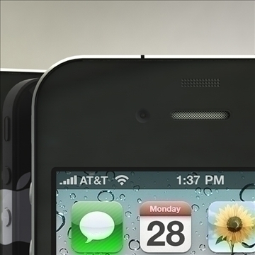 iphone4 3d model 3ds dxf fbx c4d x  obj 106531