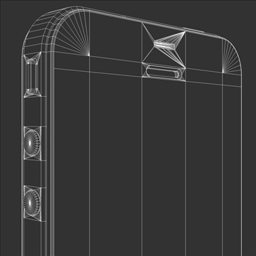 iphone4 3d model 3ds dxf fbx c4d x  obj 106534