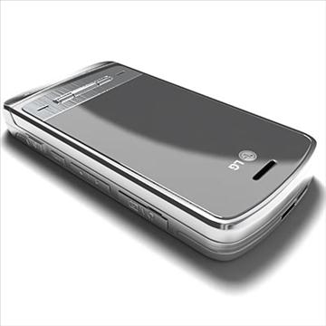 lg ke970 – shine black label series mobile phone 3d model 3ds max fbx obj 81274