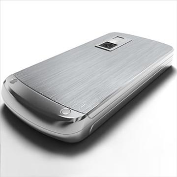 lg ke970 – shine black label series mobile phone 3d model 3ds max fbx obj 81275