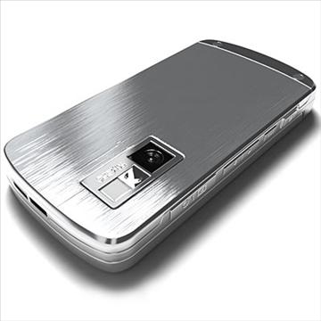 lg ke970 – shine black label series mobile phone 3d model 3ds max fbx obj 81276
