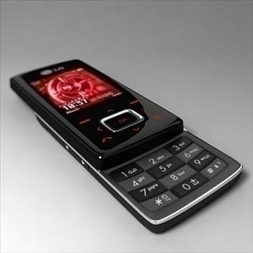 lg kg800 šokolādes melnā uzlīme 3d modelis 3ds max fbx lwo obj 108877