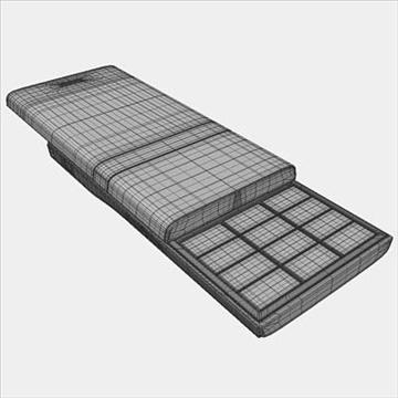 lg kv6000 chokolate ii – series mobile phone 3d model 3ds max fbx obj 81269