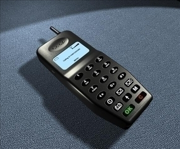 mobilais tālrunis 3d modelis max 110010
