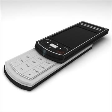 mobile phone benq siemens cl 71 3d model max 100496